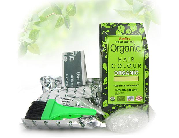 Radico Colour Me Organic kasvihiusväri kotikäyttöön luomu