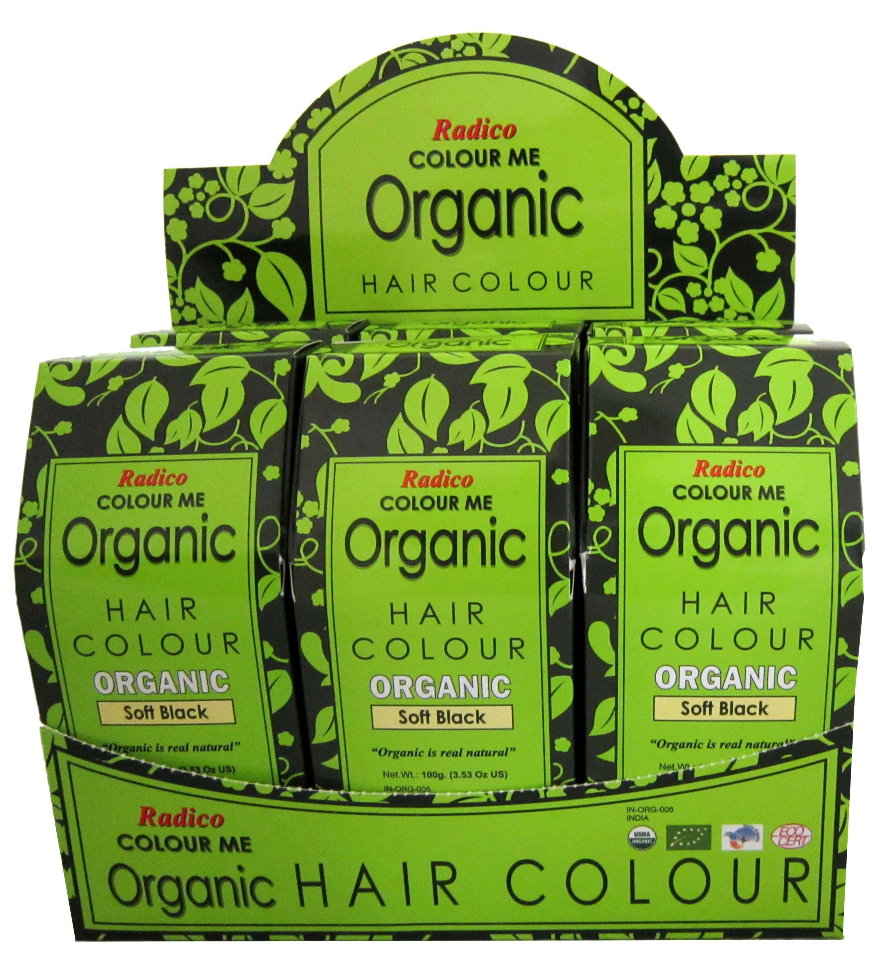 Radico Color Me Organic sertifioidut kasvipohjaiset hiusvärit