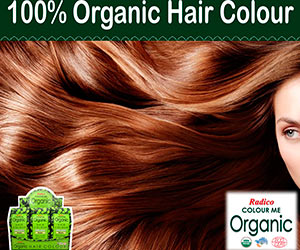 Radico Colour Me Organic kasvivärit ovat saapuneet