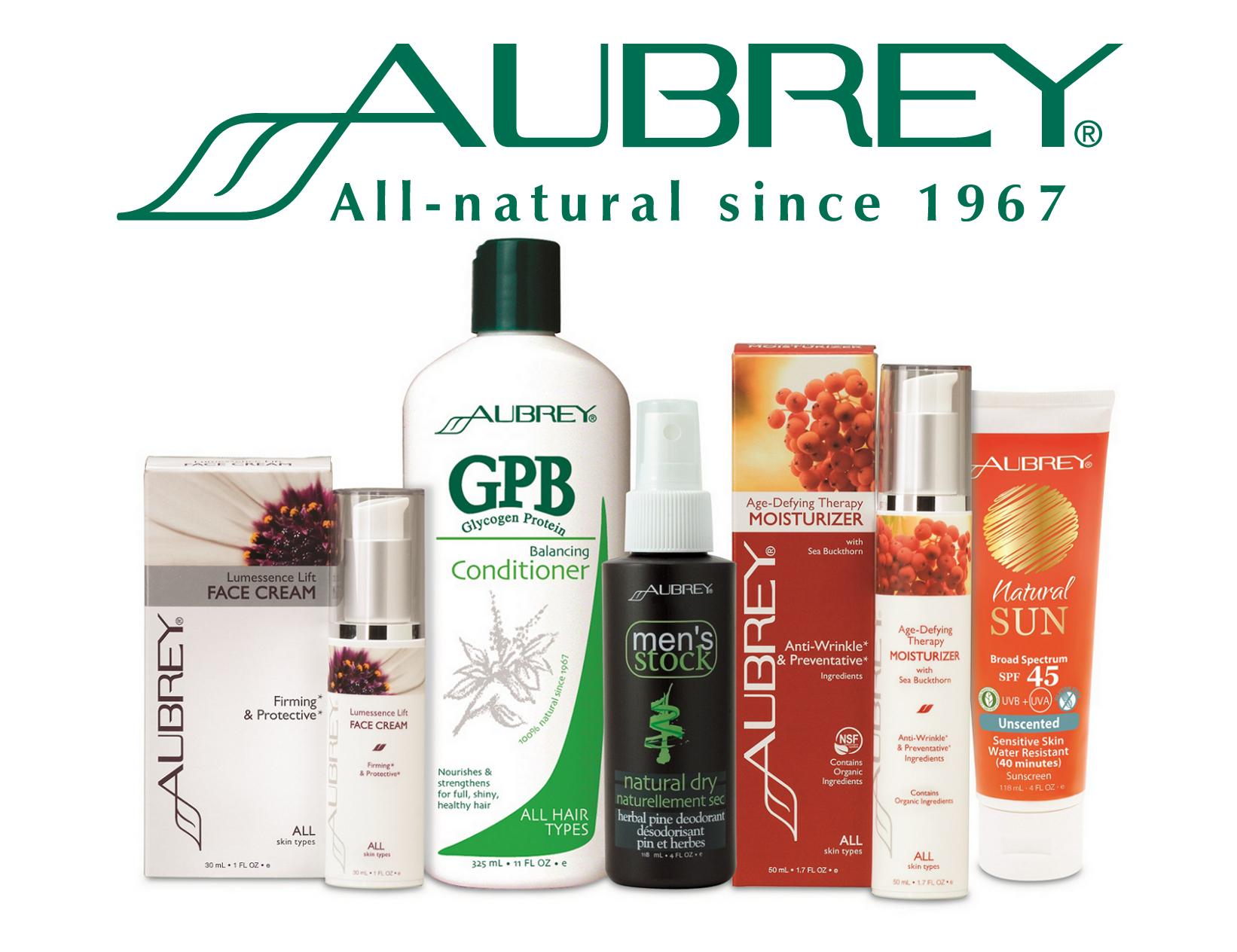 Aubrey Organics luonnonmukainen ihon-, hiusten- ja vartanlonhoito